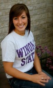 Kristina Brockner, Winona State University Nursing student